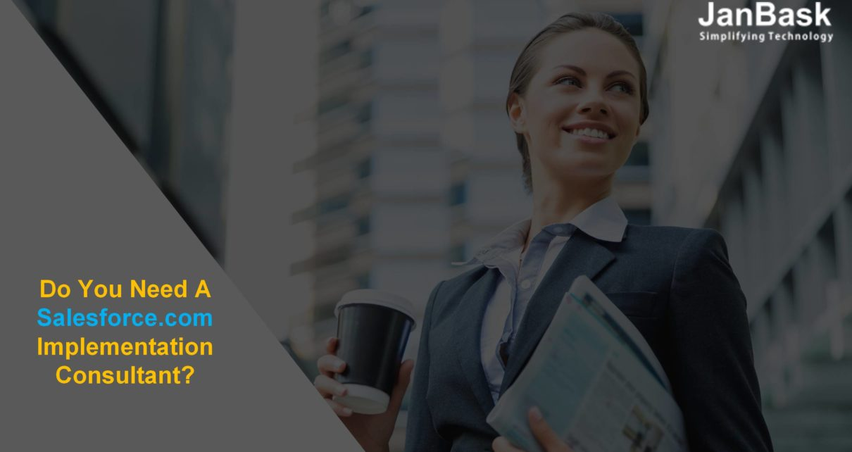 Do You Need a salesforce.com implementation Consultant?