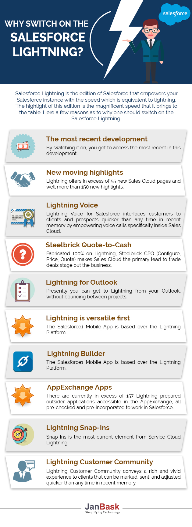 Infographic Why Switch On The Salesforce Lightning?