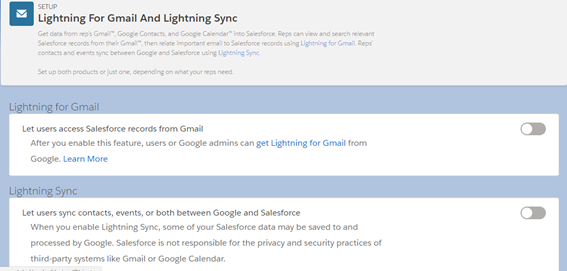Integrate Salesforce With Gmail