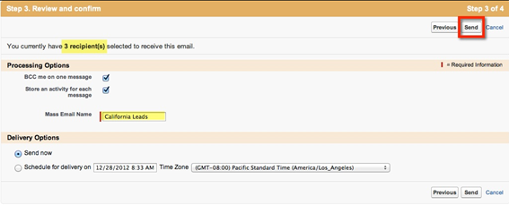 How to Send Mass Emails in Salesforce