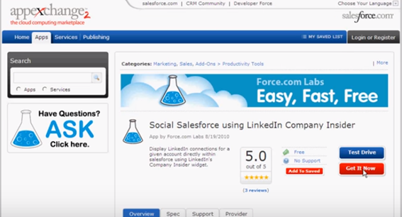 Integrate LinkedIn & Salesforce