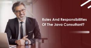 Roles and Responsibilities of the Java Consultant