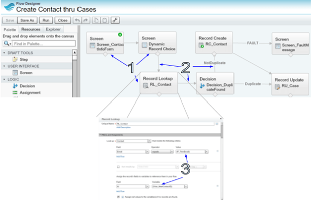 Features of Salesforce Flow & Flow Creation