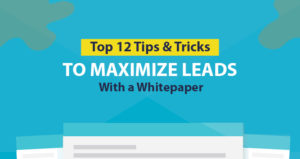 Top 12 Tips and Tricks to Maximize Leads with a Whitepaper