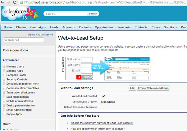 Learn How to Create a Perfect Salesforce Web-to-Lead Form