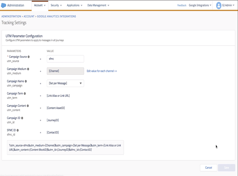How to Integrate Salesforce Marketing Cloud and Google Analytics 360