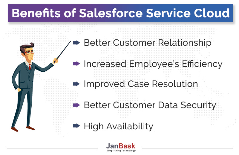 Benefits of Salesforce Service Cloud